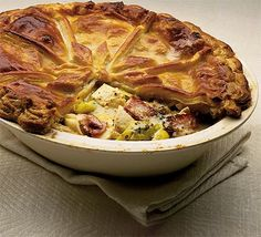 Chicken and leek pie. This has to be the best comfort food yet and it's perfect for entertaining!