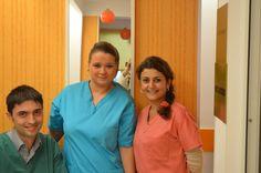 dental team, DDS Ioana Carja, DDS Tiberiu Cazan, As. Stefania