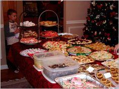 Kris Seubert's 3rd Cookie Exchange Party 2008