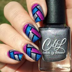 Rare Orchid, Rain and Memories of You from the CbL Fall 2015 collection. Release date Sept 15, 2015. Nail art by @de.lish.ious.nails on IG.