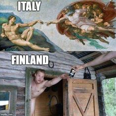 Tagged with funny, art, memes; Art In Finland Really Funny, Super Funny, Wtf Funny, Funny Jokes, Hilarious, Finnish Memes, Funny Images, Best Funny Pictures, Learn Finnish