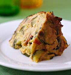Photo de la recette : Pudding épicé aux courgettes