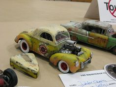 Dr. Cranky's awesome model cars.