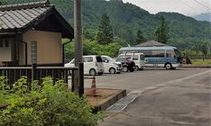 Camper in #japan . Magic, mysterious, sushi and safe. Here for the night at a free riverside parking in Saga Prefecture. Spick-and-span washrooms. Can you spot our Billie Bee Bus? (tried to hide in between the other cars). Japan is perfect to explore by #campervan. It's safe, comfortable and allows you to visit and stay at places where other transport won't allow you. Camper Rental, Riverside Park, Kyushu, Fukuoka, Bird Watching, Campervan, Mysterious, Saga, Transportation