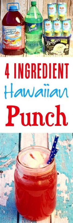 (Only 4 Ingredients) - Never Ending Journeys - - Hawaiian Punch Recipe! (Only 4 Ingredients) – Never Ending Journeys Cocktail recipes Punch Recipe! Such a fun summer drink recipe that you'll love! Red Punch Recipes, Hawaiian Punch Recipes, Wedding Punch Recipes, Punch Recipes For Kids, Hawaiian Drinks, Alcoholic Punch Recipes, Summer Drink Recipes, Non Alcoholic, Summer Drinks