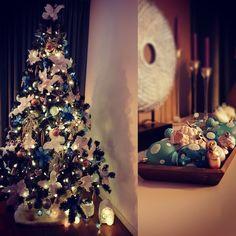 Mint & aqua christmas tree