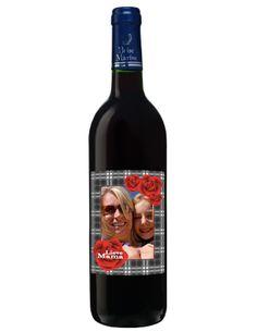 Je eigen wijn met je persoonlijk etiket het blijft mijn favoriete V en D weggeef product!