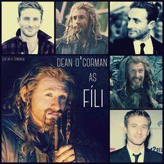 Dean O'Gorman as Fili