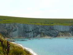The white walled cliffs of the Isle of Wight a UK summer destination like none other.  www.traveladept.com