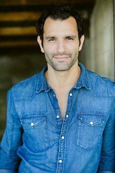 Men's headshot - Jana Williams Chambray is a good look