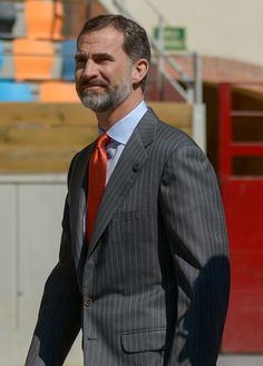 King Felipe VI of Spain visits the 'Tarraco Arena Plaza' on March 16 2015 in Tarragona Spain