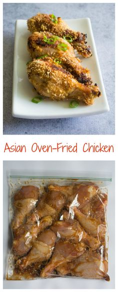Asian Oven-Fried Chicken