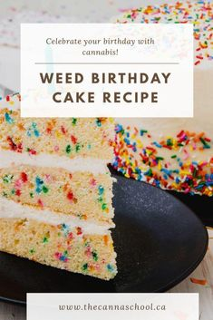 After learning how to make a weed birthday cake, my birthdays will never be the same. This delicious edible recipe is perfect for entertaining guests! Weed Recipes, Marijuana Recipes, Cannabis Edibles, Marijuana Facts, Weed Birthday Cake, Birthday Bash, Cooking With Marijuana, Gourmet Recipes, Cake Recipes