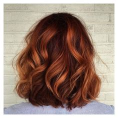 4 Beautiful Hair Colors You Need To Try This Winter ❤ liked on Polyvore featuring beauty products and haircare