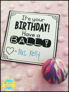 Cute birthday tag freebies and ideas for inexpensive gifts!