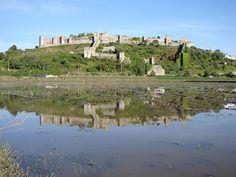 Vista campos alagados e castelo, Montemor o Velho by CCDR - Centro / Região Centro de Portugal, via Flickr