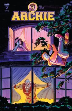 Archie (2015-) #7  Hiram Lodge finally learns who his daughter, Veronica, is dating. And when he realizes that it's the boy who destroyed their mansion-to-be, his resulting rage will upend the entire town of Riverdale.