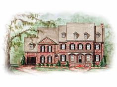 Eplans Colonial House Plan - Immense Master Suite - 5121 Square Feet and 4 Bedrooms(s) from Eplans - House Plan Code HWEPL10914