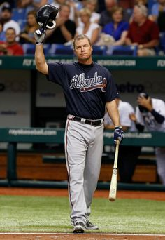 Chipper at the Rays