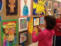 Make your school art show interactive using QR codes