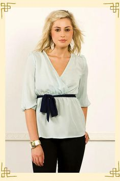 Mint to Be Blouse