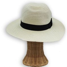 Classic fedora style with a bow band made by San Diego Hat Company. Contemporary and stylish with UPF 50 protection added in. The perfect everyday street hat.