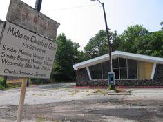 The Post-Pessimist Association: Abandoned Churches of Atlanta, June Edition