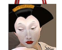 Art Needlepoint Two sided Geisha Needlepoint Kit Large from the Art Needlepoint Company. $284.00