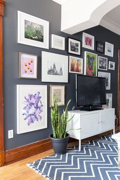 Savannah & Mike's Colorful, Slightly Edgy Montreal Rental