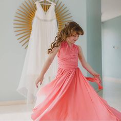 Total LOVE for @em__rogers gorgeous little girl twirling in her @goddessbynature Flowergirl dress in the stunning coral kiss colour which looks amazing on her at mummy's Bali wedding 💕🌸 www.goddessbynature.com  #goddessbynature #goddessbynaturebridalparty #flowergirls #flowergirl #wedding #weddinginspo #weddingdress #weddinggown #multiwaydress #bridesmaid #bride #bridetobe #baliwedding #bridesmaidsdress #bridesmaidsdresses #bridesmaidstyle #bridesmaidgown #bridesmaiddress…