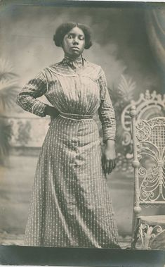 """TURN OF THE CENTURY: Gayne Preller made many portraits of African Americans; her granddaughter says """"she had just one door"""" to the studio in Augusta."""