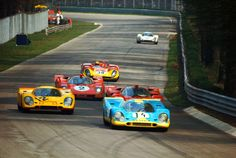 Monza 1970. Car number 12 with Hans Laine (SF) and Gijs van Lennep (NL) in a Porsche 917K