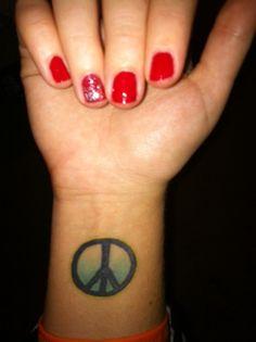 #peace #tattoos