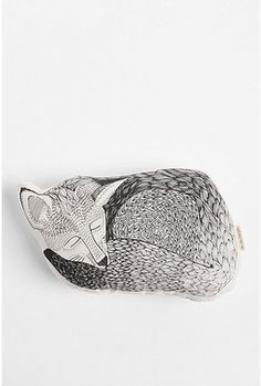 I love this fox pillow from Urban Outfitters!