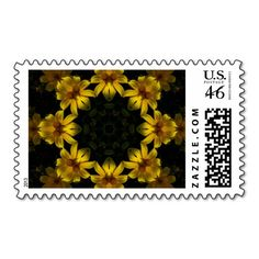 Yellow Flowers Stamp
