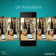 For those hilarious moments that should never be forgotten, the Find 7 can capture crisp GIF animations at impressive frame rates. #Find7 #RaiseTheBar