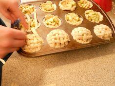 Mini Apple Pies! For Dwarf Sized bites at Snow White Party