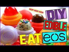 DIY Candy Corn EOS! | Using REAL Candy Corn! | EOS Halloween Lip Balm! - YouTube
