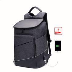 57a66d8d161e5 Moda na co dzień Wielofunkcyjne USB do ładowania Mężczyźni 15 cali Laptop  Plecaki antykradzieżowe Wodoodporne praktyczne