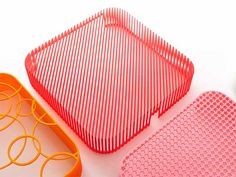 3D printed 3-Pring Product add-ons that enhance a series of Muji products by TAKT Project
