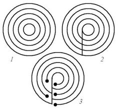 mathrecreation: another way to draw simple labyrinths