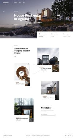 Baroque a large WordPress theme created especially for architecture, interior design, creative design and construction websites. Simple Website Design, Website Design Layout, Web Layout, Layout Design, Website Designs, Interior Design Layout, Interior Design Website, Baroque Architecture, Interior Architecture