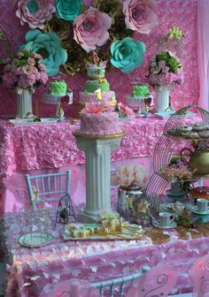 Fairy Tale/Garden Tea Party Birthday Party Ideas | Photo 19 of 33