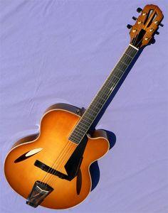 2013 Trenier Rosine Jazz Guitar, Body Size, Traditional Design