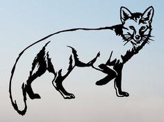 Shoply.com -Fox Handmade Original Papercut Gift: Hand-Cut Paper Art Silhouette. Only $20.00