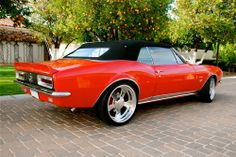1967 Camaro Convertible...Re-pin brought to you by agents of #carinsurance at #houseofinsurance in Eugene, Oregon