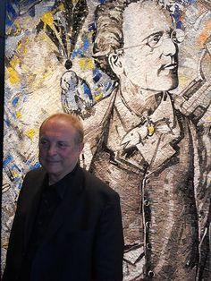 Christian Ludwig Attersee, 28. August 1940, Austrian Painter Ludwig, Autism, Photographs, Christian, Painting, Design, Art, Mosaics, People