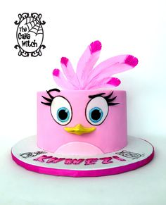 Angry Birds - Stella Birthday Cake