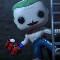 Checkout Animated Funko Suicide Squad Trailer @ SuicideSquadShop.com  #SuicideSquadShop #SuicideSquad