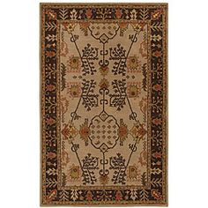 @Overstock - A vivid oriental pattern and luscious pile height highlight this hand-tufted Antique wool rug. This area rug features striking shades of beige and browning.http://www.overstock.com/Home-Garden/Hand-tufted-Antique-Beige-Wool-Rug-8-x-11/5991935/product.html?CID=214117 $454.99